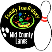 family fun / mid county lanes logo