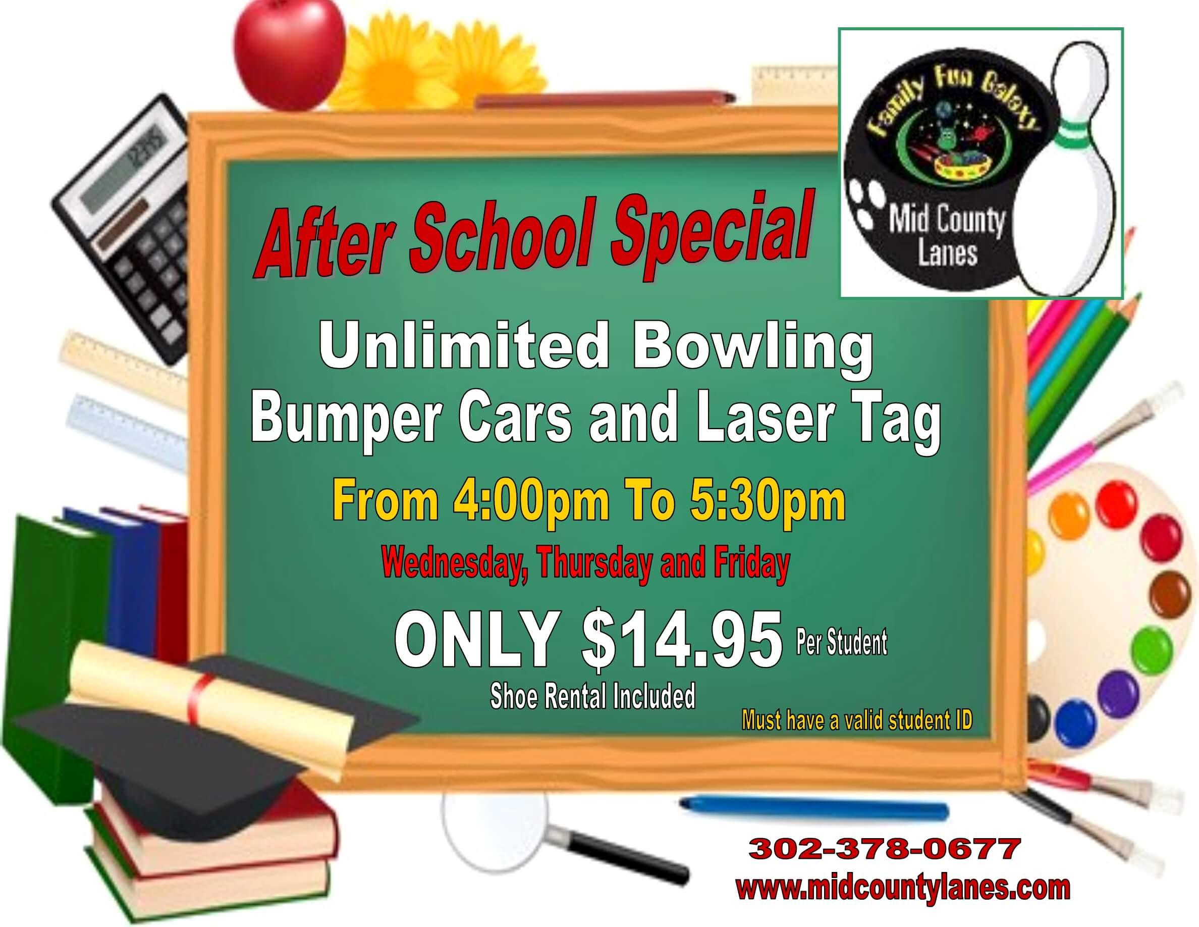 after school9+ bowling special