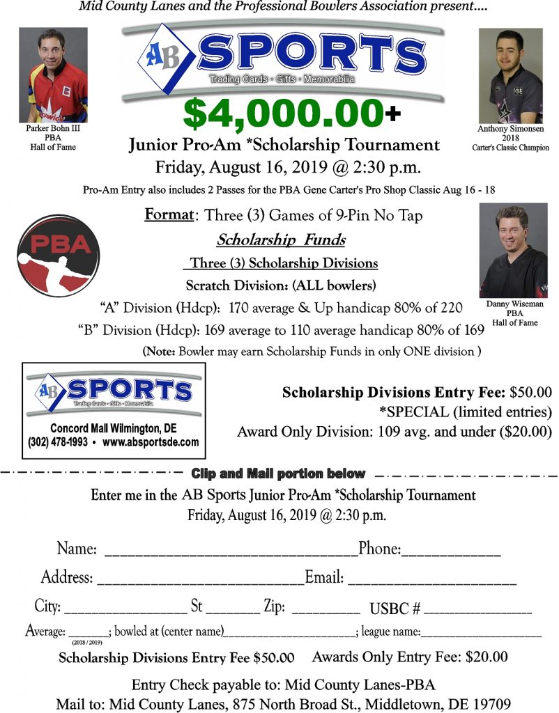 Junior Pro-Am Scholarship Tournament